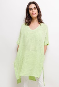 GG LUXE tunic with slits