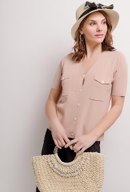 GG LUXE knitted top