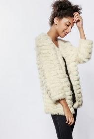 GOA genuine fur jacket