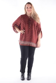 H3 blouse with large size links