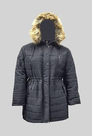 H3 h2 down jacket