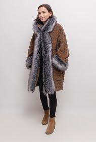 HAPPY LOOK manteau en laine