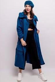 HAPPY LOOK long woolen coat