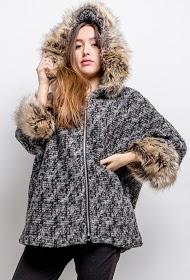 HAPPY LOOK abrigo de lana