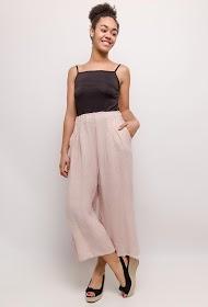 HAPPY LOOK wide linen pants