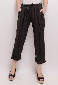 HAPPY LOOK linen pants