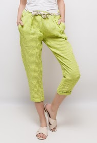 HAPPY LOOK linen trousers