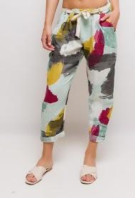 HAPPY LOOK linen trousers
