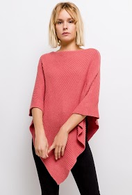 HAPPY LOOK gerippter poncho