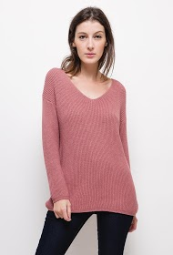 HAPPY LOOK ribbed knit vest