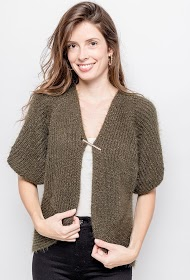 HAPPY LOOK vest with short sleeves