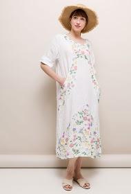 HAPPY LOOK robe en lin