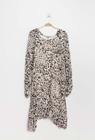 HAPPY LOOK robe léopard