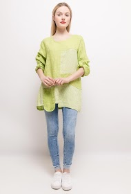 HAPPY LOOK linen tunic