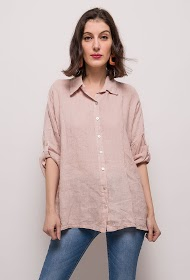 HAPPY LOOK linen shirt