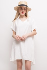 HAPPY LOOK linen dress