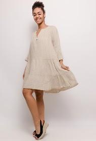 HAPPY LOOK linen dress