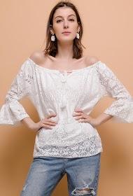 HAPPY LOOK kanten blouse