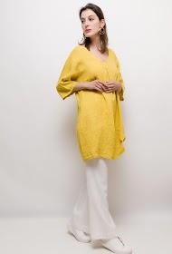 HAPPY LOOK linen tunic