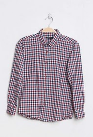 HOPENLIFE gingham check shirt