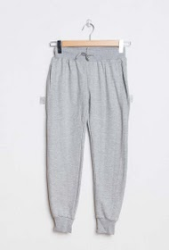 HOPENLIFE pantaloni da jogging in pile