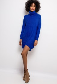 IM SHOP turtleneck sweater dress