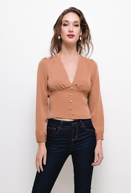 IN VOGUE flowing blouse