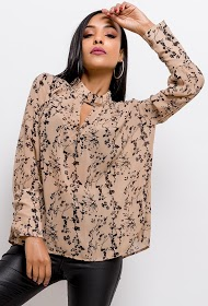 IN VOGUE blusa estampada
