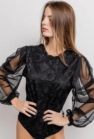 IN VOGUE lace bodysuit