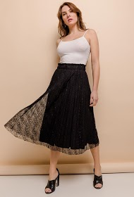 IN VOGUE pleated skirt