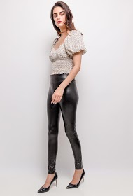 IN VOGUE faux leather leggings