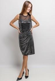 IN VOGUE glitter dress
