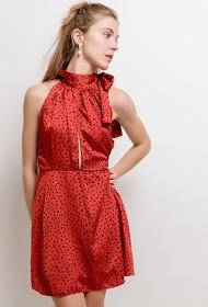 IN VOGUE polka dot dress