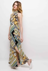 IN VOGUE long floral dress