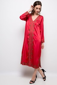 IN VOGUE robe soyeuse
