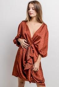 IN VOGUE ruffled dress