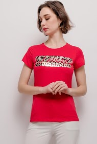 IN VOGUE j'adore large print t-shirt