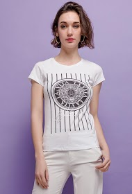 IN VOGUE t-shirt met print