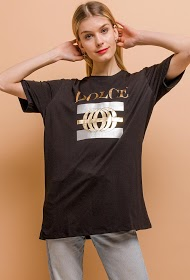 IN VOGUE t-shirt long dolce