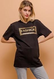 IN VOGUE t-shirt long fashion
