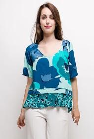INFINITIF PARIS printed blouse