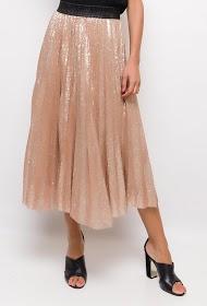 INFINITIF PARIS sequin long skirt