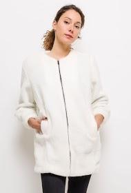 INFINITIF PARIS manteau en fourrure