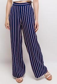 INFINITIF PARIS pantalon large rayé