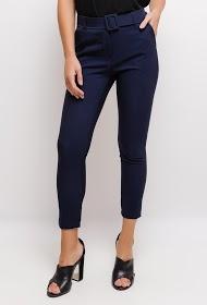 INFINITIF PARIS pantalon avec ceinture
