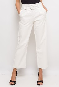 INFINITIF PARIS pantalon en similicuir