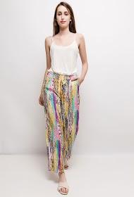 INFINITIF PARIS wide printed trousers