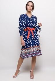 INFINITIF PARIS polka dot dress