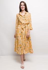 INFINITIF PARIS printed shirt dress