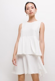 INFINITIF PARIS robe volantée